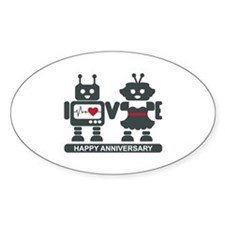 LV - Robots - Anniversary Decal