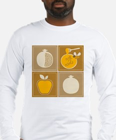 Shanah Tovah Rosh Jewish New Y Long Sleeve T-Shirt