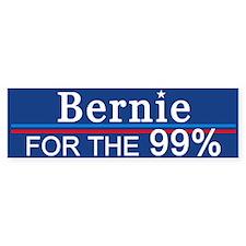 Bernie For The 99% Bumper Bumper Sticker
