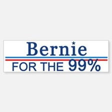 Bernie For The 99% Bumper Bumper Bumper Sticker