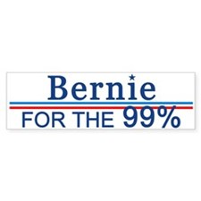 Bernie For The 99% Bumper Bumper Sticker