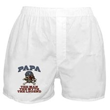 Papa Man Myth Legend Boxer Shorts