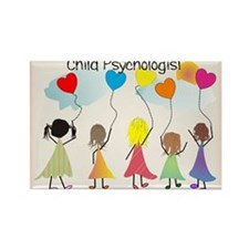 Cute Psychologist Rectangle Magnet (10 pack)