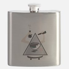 All Seeing Skter Flask