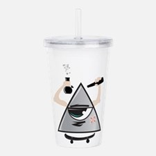 All Seeing Sktaer Acrylic Double-wall Tumbler