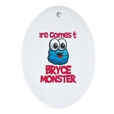 Bryce Monster Oval Ornament