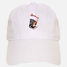 GSD Santa Pup Baseball Baseball Cap