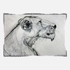 Lion! lioness, wildlife art! Pillow Case