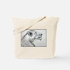 Lion! lioness, wildlife art! Tote Bag