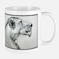 Lion! lioness, wildlife art! Mugs