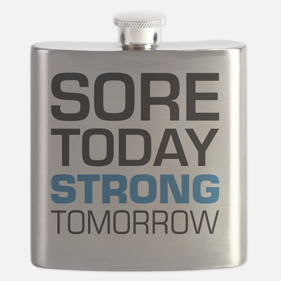 Weightlifting womens Flask