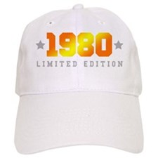Limited Edition 1980 Birthday Shirt Baseball Cap