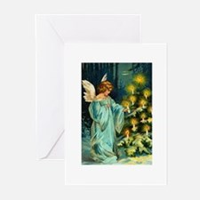 Angel Tannenbaum Greeting Cards (Pk of 10)