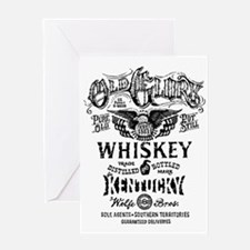 Whiskey Greeting Cards