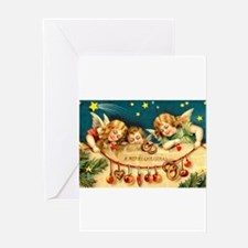 Chritmas Angels Greeting Card