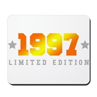 Limited Edition 1997 Birthday Shirt Mousepad
