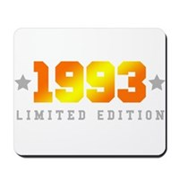 Limited Edition 1993 Birthday Shirt Mousepad