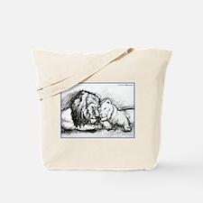 Lions! Wildlife art! Tote Bag