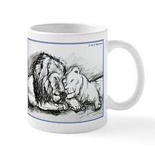 Lions! Wildlife art! Mugs