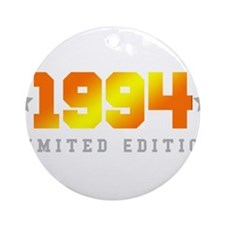 Limited Edition 1994 Birthday Shirt Round Ornament