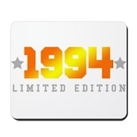 Limited Edition 1994 Birthday Shirt Mousepad
