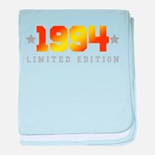 Limited Edition 1994 Birthday Shirt baby blanket