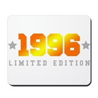 Limited Edition 1996 Birthday Shirt Mousepad
