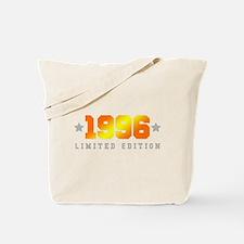 Limited Edition 1996 Birthday Shirt Tote Bag