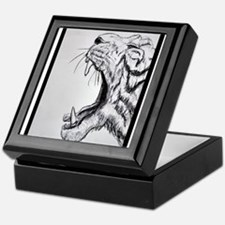 Tiger! wildlife art! Keepsake Box