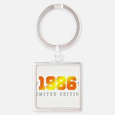 Limited Edition 1986 Birthday Shirt Keychains