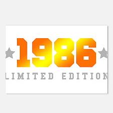 Limited Edition 1986 Birthday Shirt Postcards (Pac