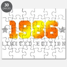Limited Edition 1986 Birthday Shirt Puzzle