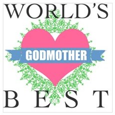 World's Best Godmother Poster