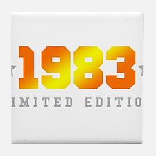 Unique 1983 Tile Coaster