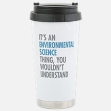 Environmental Science T Stainless Steel Travel Mug