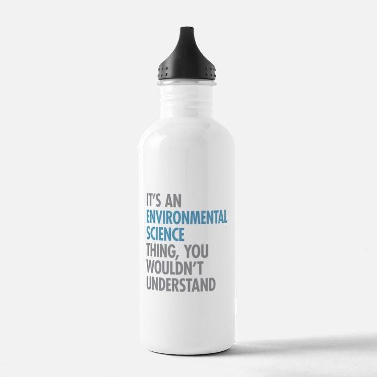 Environmental Science Water Bottle