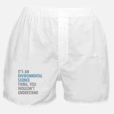 Environmental Science Thing Boxer Shorts