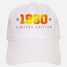 Limited Edition 1980 Birthday Shirt Baseball Baseball Cap