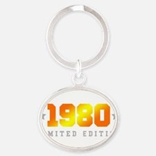 Limited Edition 1980 Birthday Shirt Keychains