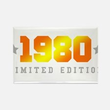 Limited Edition 1980 Birthday Shirt Magnets