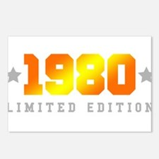 Limited Edition 1980 Birthday Shirt Postcards (Pac