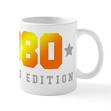 Limited Edition 1980 Birthday Shirt Mugs