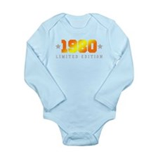 Limited Edition 1980 Birthday Shirt Body Suit