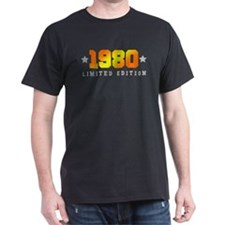 Limited Edition 1980 Birthday Shirt T-Shirt