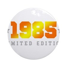 Limited Edition 1985 Birthday Shirt Round Ornament