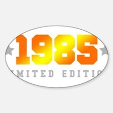 Limited Edition 1985 Birthday Shirt Decal