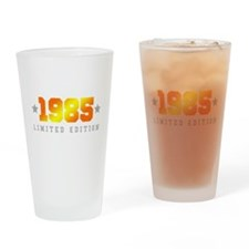 Limited Edition 1985 Birthday Shirt Drinking Glass