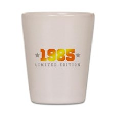 Limited Edition 1985 Birthday Shirt Shot Glass