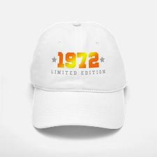 Limited Edition 1972 Birthday Baseball Baseball Cap