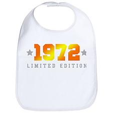 Limited Edition 1972 Birthday Bib